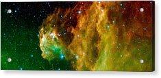 Hunter Constellation Acrylic Print by Sebastian Musial