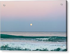 Hunters Moonrise Acrylic Print by Michelle Wiarda