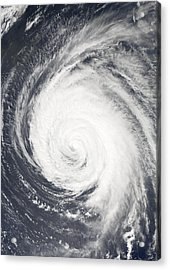 Hurricane Acrylic Print by Unknown