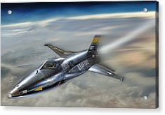 Hypersonic Acrylic Print by Peter Chilelli