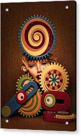 Hypnotic Woman 1 Acrylic Print by Jeff  Gettis