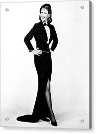 I Am A Camera, Julie Harris, 1955 Acrylic Print by Everett
