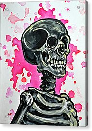 I Am Dead Inside  Acrylic Print by Ryno Worm  Tattoos