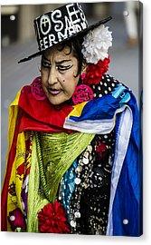 I Love Colors Acrylic Print by Sotiris Filippou