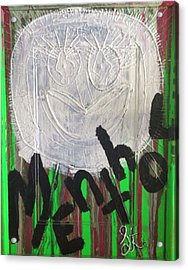 I Love Menthol Smokes Acrylic Print by Lisa Piper Menkin Stegeman