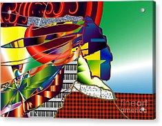 I Perceive Acrylic Print by Kim Peto