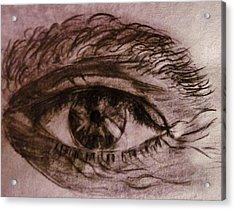 I See You... Acrylic Print by Cristina Mihailescu