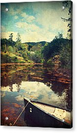 I Tried To Get To You Acrylic Print by Laurie Search