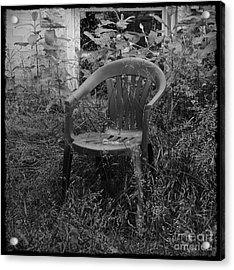 I Used To Sit Here Acrylic Print by Luke Moore