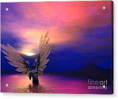 I Will Rise Again Acrylic Print by Sipo Liimatainen
