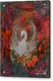 I Will Rise Acrylic Print by Nancy TeWinkel Lauren