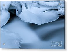 Ice 19 Acrylic Print by Bob Christopher