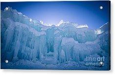 Ice Castle Acrylic Print by Edward Fielding