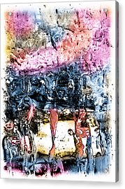 Ice Number Four Acrylic Print by Bob Orsillo
