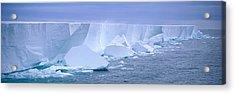 Iceberg, Ross Shelf, Antarctica Acrylic Print by Panoramic Images