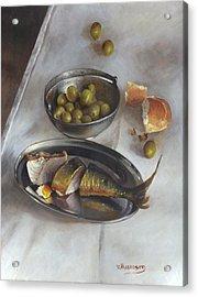 Icelandic Fish Acrylic Print by Victor Mordasov