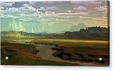 If Only Time Could Sleep Acrylic Print by Dieter Carlton