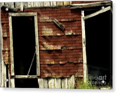 If Walls Could Talk Acrylic Print by Cris Hayes