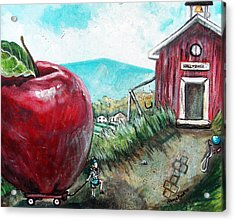 Ill Be The Teachers Pet For Sure Acrylic Print by Shana Rowe Jackson