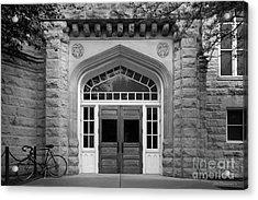 Illinois State University Cook Hall Acrylic Print by University Icons