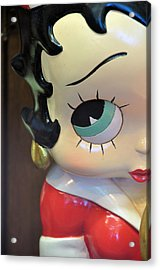 I'm Keeping My Eye On You Acrylic Print by Jan Amiss Photography