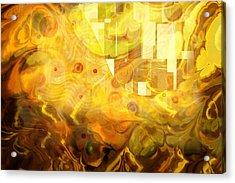 Imaginary Acrylic Print by Lutz Baar