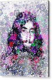 Imagine Acrylic Print by Bekim Art