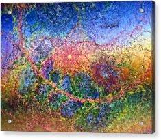 Impressionist Dreams 1 Acrylic Print by Casey Kotas