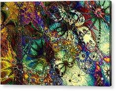 Impressions Acrylic Print by Kiki Art