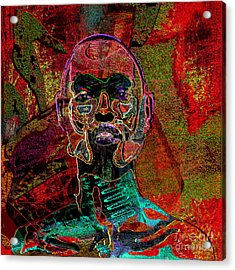 Imprint Of Proof Acrylic Print by Reggie Duffie