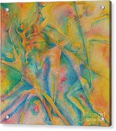 Improvisation Acrylic Print by Jaswant Khalsa