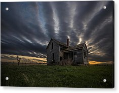 In A Past Life Acrylic Print by Aaron J Groen