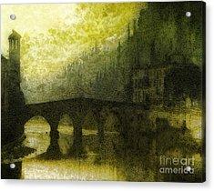 In Fair Verona Acrylic Print by Mo T