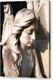 In Mourning Acrylic Print by Tom Druin