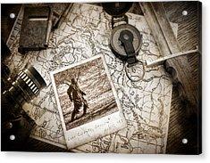 In Search Of Acrylic Print by Tom Mc Nemar
