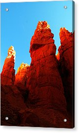 In Shadows Where The Gods Wander Acrylic Print by Jeff Swan