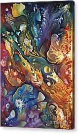 In The Beginning Acrylic Print by Ricardo Chavez-Mendez
