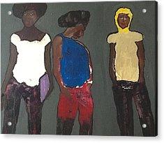 In The Hood Acrylic Print by Omar Hafidi