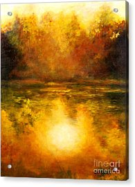 In The Light Of Day Acrylic Print by Alison Caltrider