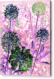 In The Pink Acrylic Print by Avis  Noelle