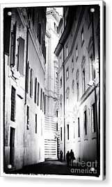 In The Shadows Acrylic Print by John Rizzuto