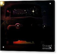 In The Still Of The Night Acrylic Print by Bobbee Rickard