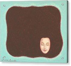 In The Void Acrylic Print by Judith Grzimek