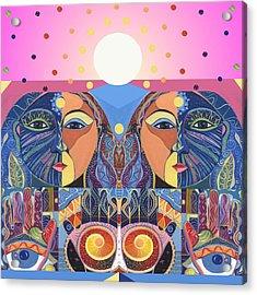 In Unity And Harmony Acrylic Print by Helena Tiainen