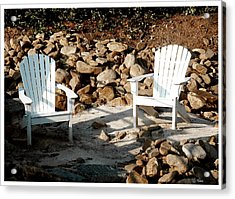 In Waiting Acrylic Print by James C Thomas