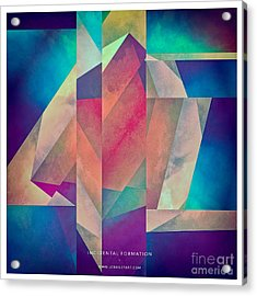 Incidental Formation Acrylic Print by Lonnie Christopher