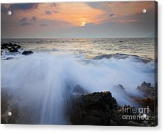 Incoming Acrylic Print by Mike  Dawson