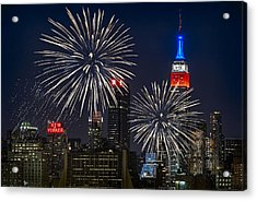Independence Day Acrylic Print by Eduard Moldoveanu