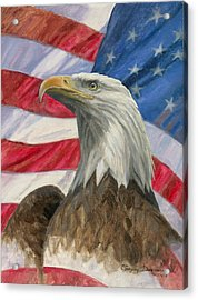 Independence Day Acrylic Print by Gregory Doroshenko