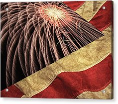 Independence Day  Acrylic Print by Lanjee Chee